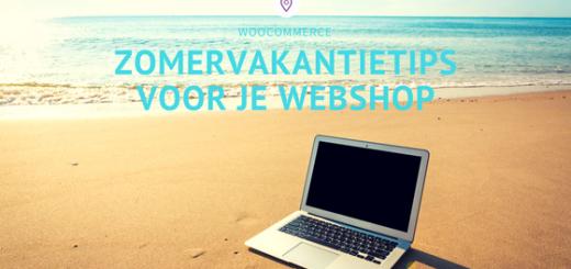Zomervakantietips voor je webshop