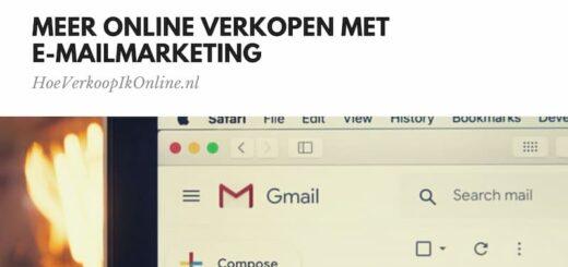 e-mailmarketing meer online verkopen