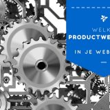 productweergave webshops