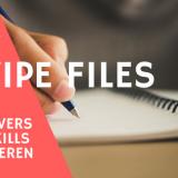 swipe file maken
